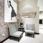Nikki Rolfe Interiors - Reception makovers
